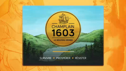 Site web - Champlain 1603: The New World