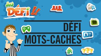 Site web - Défi Mots-cachés
