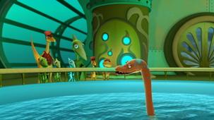 Vidéo - Le sous-marin du Dino train