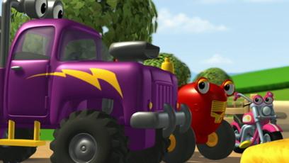 La pluie vid o de tracteur tom en fran ais tfo - Jeux de tracteur tom ...