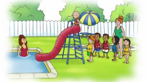 Vidéo - Caillou and the Water Slide