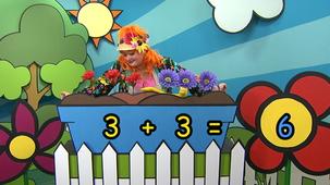 Vidéo - How Many Flowers, Fleurette?: 3 + 3