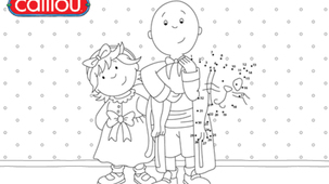 Coloring - Caillou P