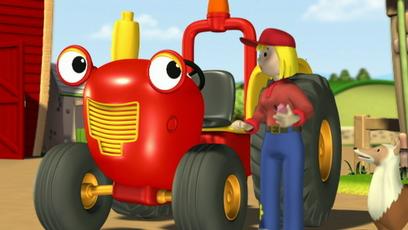 Une journ e bien remplie vid o de tracteur tom en - Jeux de tracteur tom ...