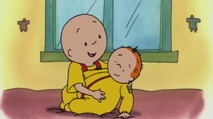 Vidéo - Caillou Becomes A Big Brother