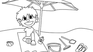 Coloriage - Charlie 5