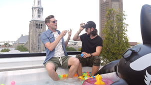 Vidéo - Rooftop Party with Lou-Pascal Tremblay (And PO Beaudoin)
