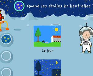 Site web - Les étoiles