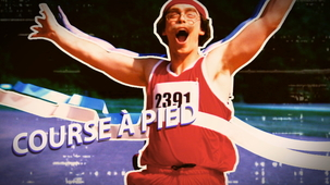 Vidéo - Les Olympiques de Papi : Course à pied