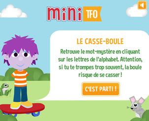 Site web - Le casse-boule