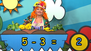 Vidéo - Combien de fleurs Fleurette? : 5 - 3