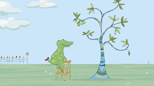 Vidéo - Doodle and the apple tree