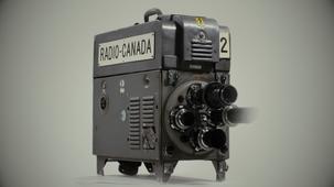 Vidéo - La caméra de télévision Marconi Mark II