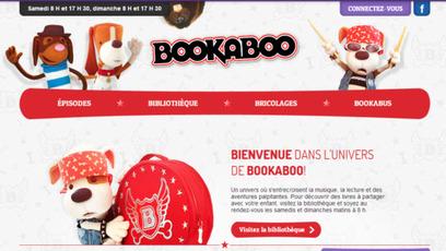 Site web - Bookaboo