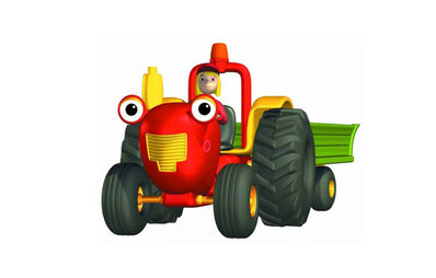 Personnage Tracteur Tom.