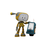 Personnage Robotik.