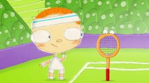 Vidéo - Le jour où Henri a rencontré une raquette de tennis