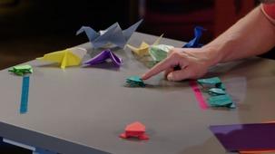 Vidéo - La grenouille en papier