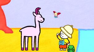 Vidéo - Louie, draw me an Antelope