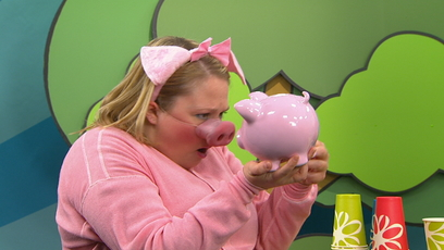 Universe image Titi the pig-shaped coin bank