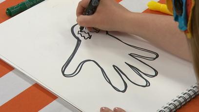 Vidéo - Hand Drawings: Ghost