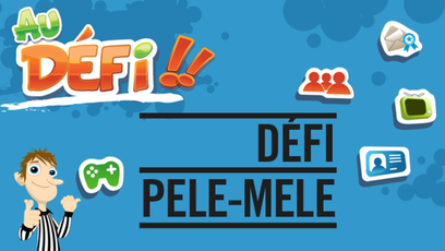 Site web - Défi Pêle-Mêle
