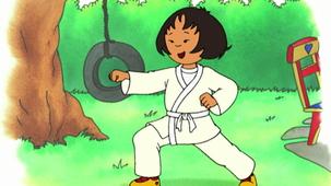 Vidéo - Caillou Tries Karate