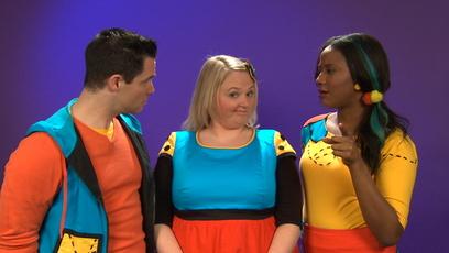 Universe image Louis, Josée and Lexie
