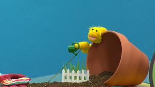 Vidéo - Fleurette jardine : Arroser le jardin