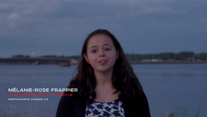 Vidéo - MélanieRose Frappier