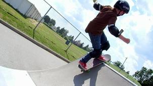 Vidéo - Samuel - la planche à roulettes