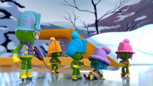 Vidéo - Daisy Cocci sur glace