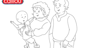Coloring - Caillou 2