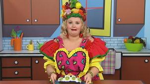 Vidéo - Madame Fruitée fait un gâteau : Déguster