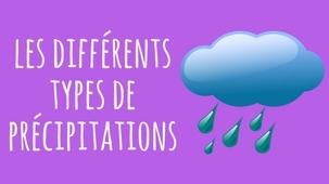Vidéo - Top 5 des types de précipitations