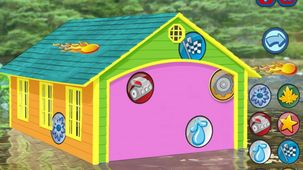 Launch the game Zerby Derby: Build a House in a modal