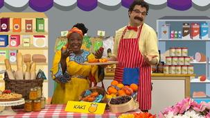 Vidéo - Madame Bonheur at the Market: Kaki