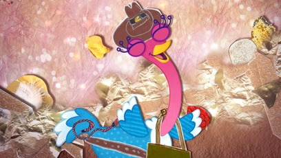 Universe image Olive the ostrich