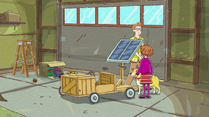 Vidéo - Un kart à l'énergie durable