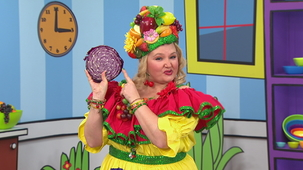 Vidéo - Madame Fruitée Dances: Red Cabbage