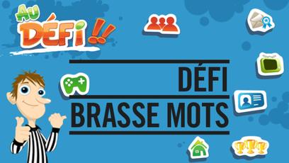 Site web - Défi Brasse mots