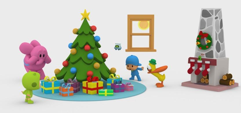 Lancer la vidéo Le Noël de Bébé martien