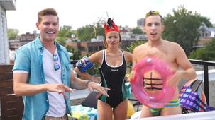 Vidéo - Party de terrasse avec Pascal Morrissette et Julie Ringuette (et PO Beaudoin)