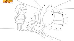 Coloriage - Maya l'abeille P3