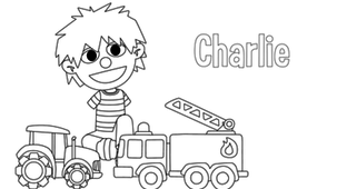 Coloriage - Charlie 1