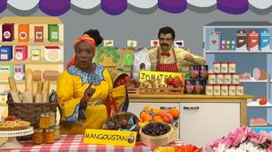 Vidéo - Madame Bonheur au marché : Mangoustan