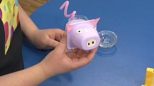 Vidéo - Mini brico réutilise : Cochon yogourt