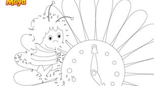 Coloring - Maya l'abeille P2