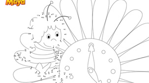 Coloriage - Maya l'abeille P2
