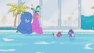 Vidéo - Humf à la piscine